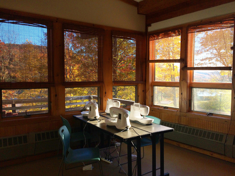 My classroom and the most amazing views
