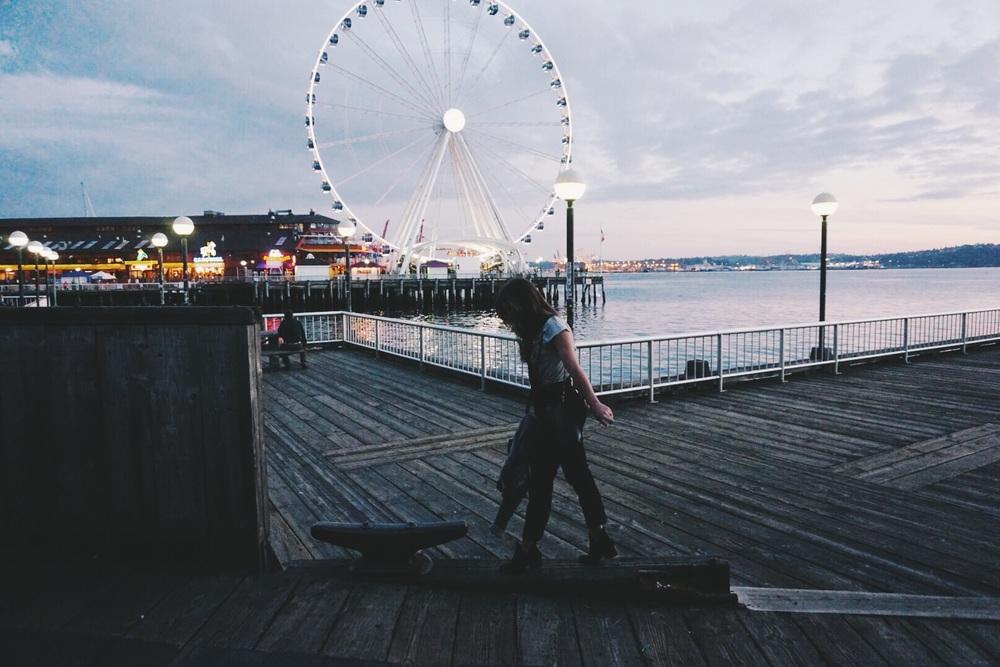 Sleepless in Seattle.