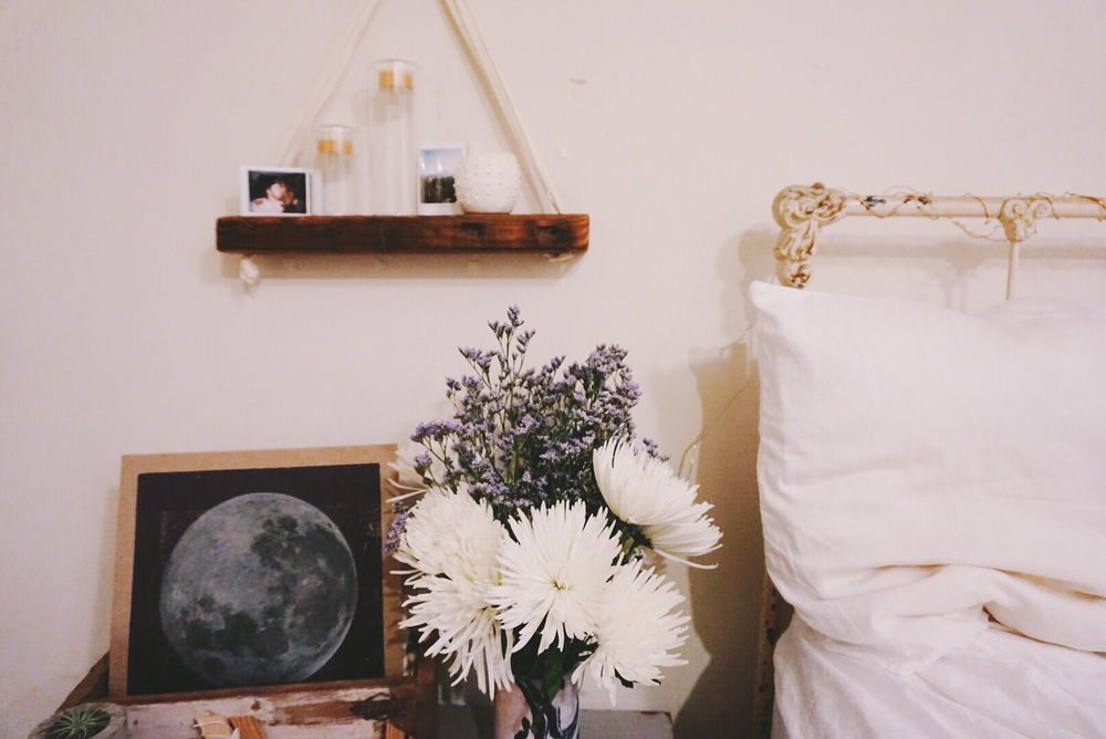 My new Tyler Kingston shelf hanging pretty!