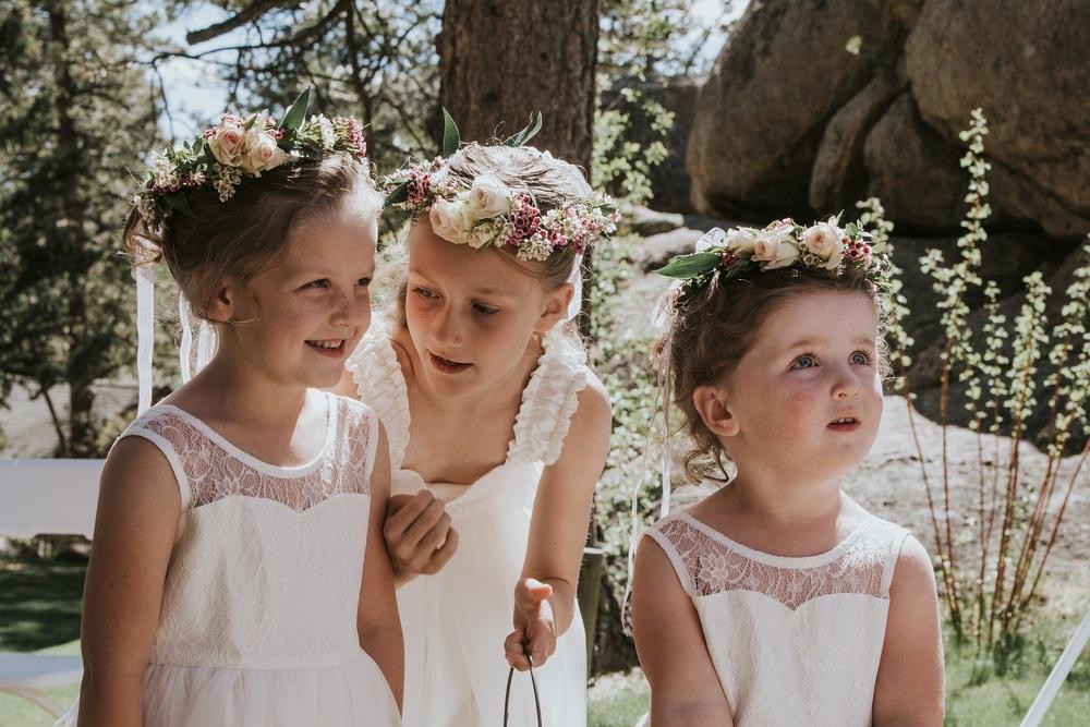 Flower girl dresses from  Fattie Pie