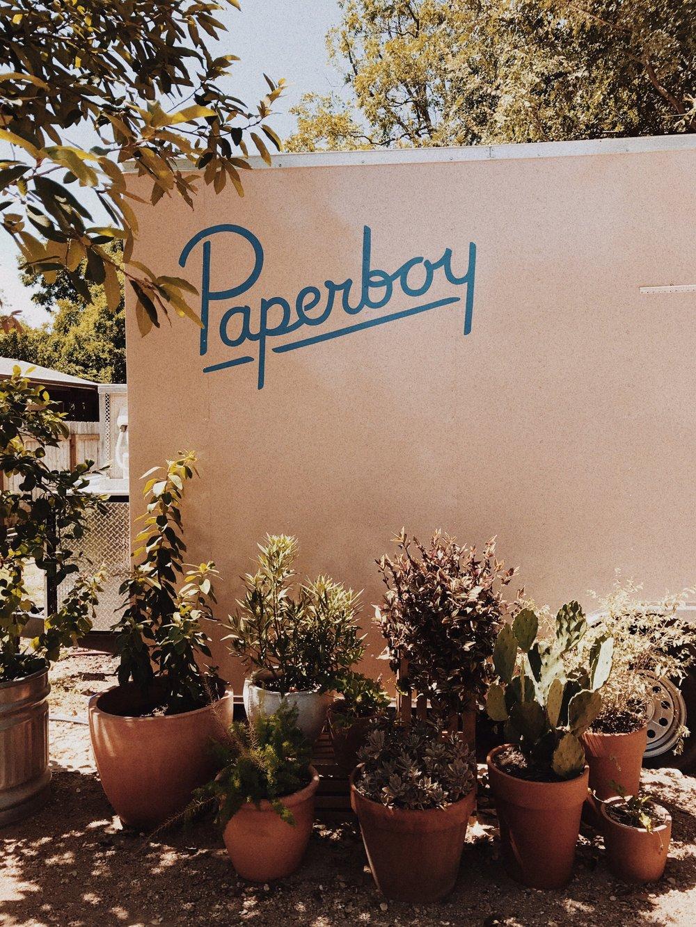 Paperboy Food Truck