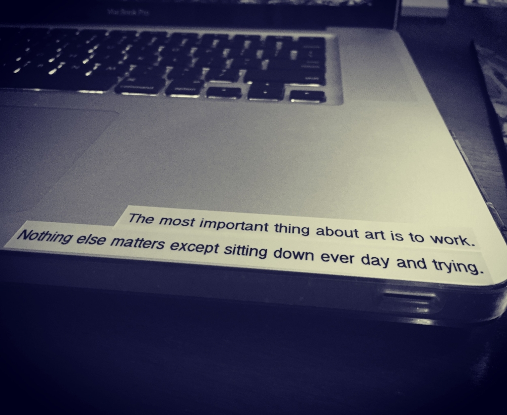 Steven Pressfield quote from The War of Art