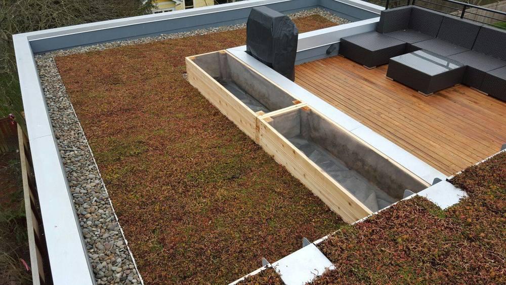 Garden/ Vegetative Roofing System