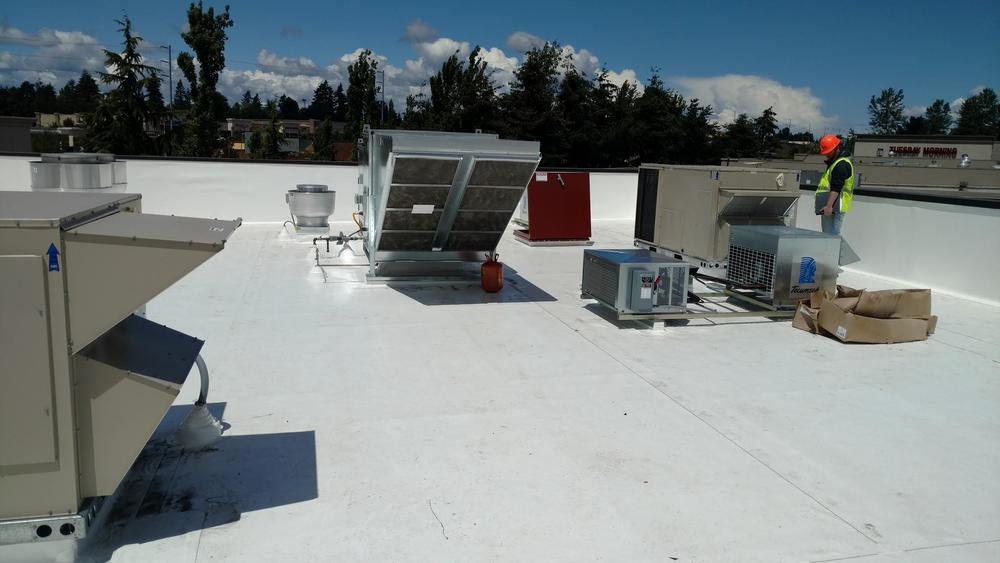 commercial roofing contractor Federal Way WA