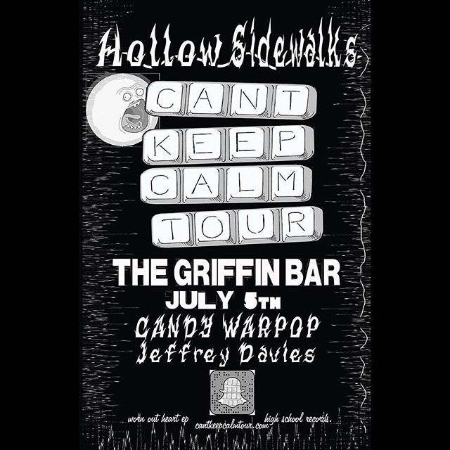 Music video shoot tonight! Join us for a free show and help us make our newest video. #Repost @lasvegasgriffin ・・・ Hope you're all not too partied out to join us tonight in the back bar! @hollow_sidewalks @candywarpop #freeshow #downtownlv #whattodoinvegas #thingstodoinvegas #fremonteast