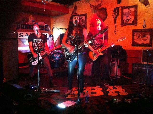Five years ago today we played our first show with Amy at the old Bunkhouse Saloon. The show was unannounced; we didn't make it official until a couple weeks later at the Royal.
