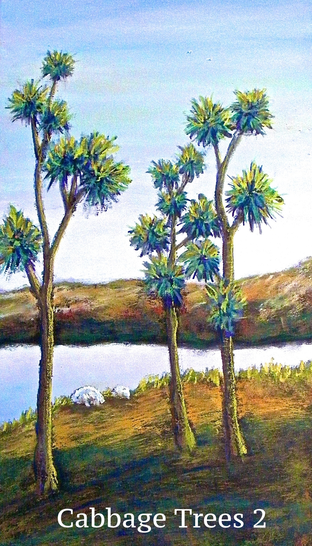 Cabbage trees 2