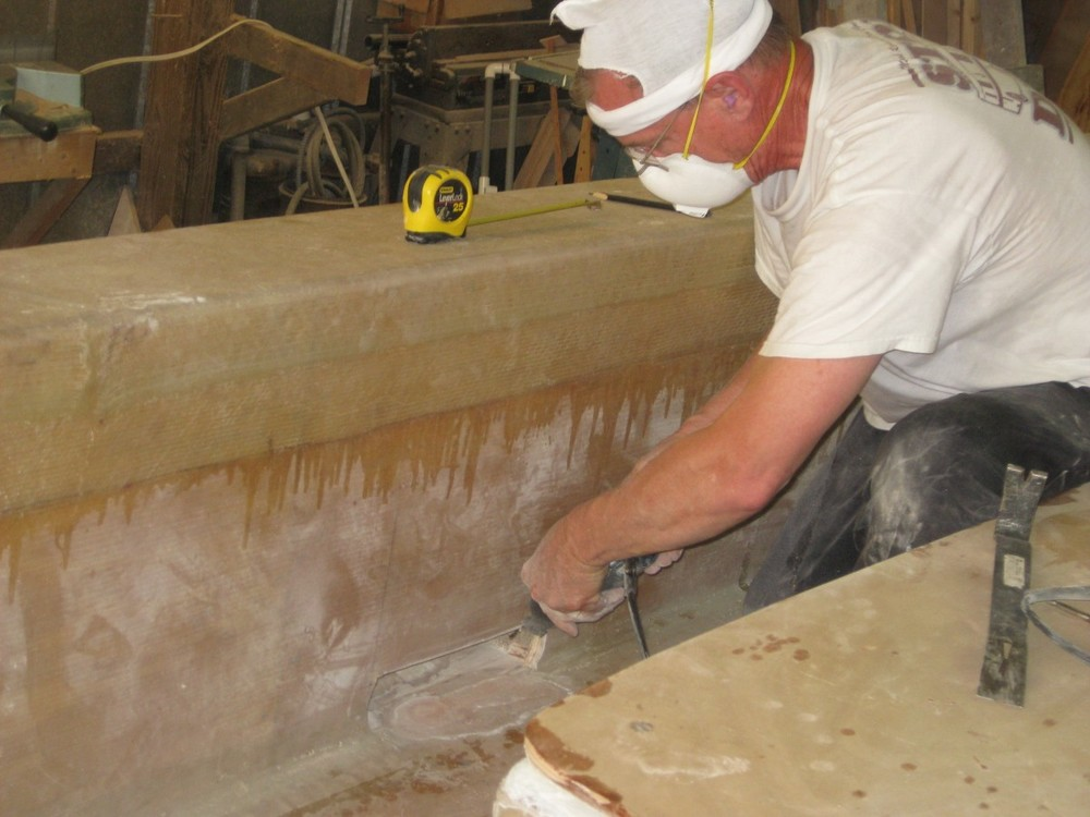 Chester shaping scupper