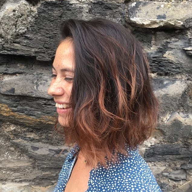 Happy Monday people! Whopper cut and ombre highlights by extraordinary @janinhadourado. . . . #thestudiohair #hairbyjanainadourado