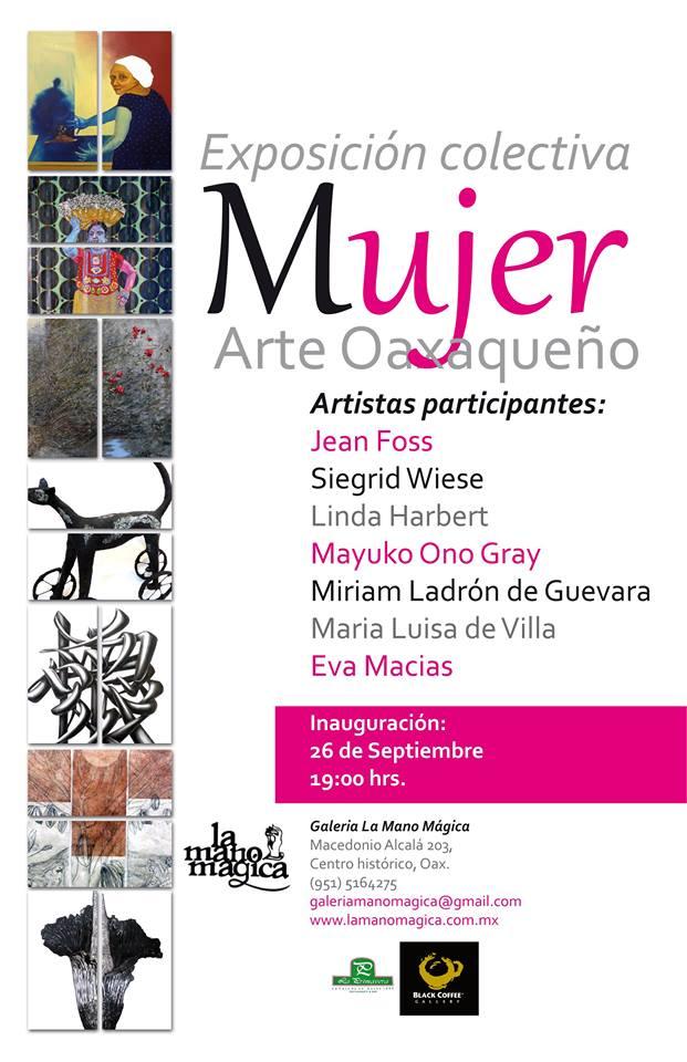 Galeria la Mano Magico Expo Mujer Arte Oaxaqueño cartel.jpg
