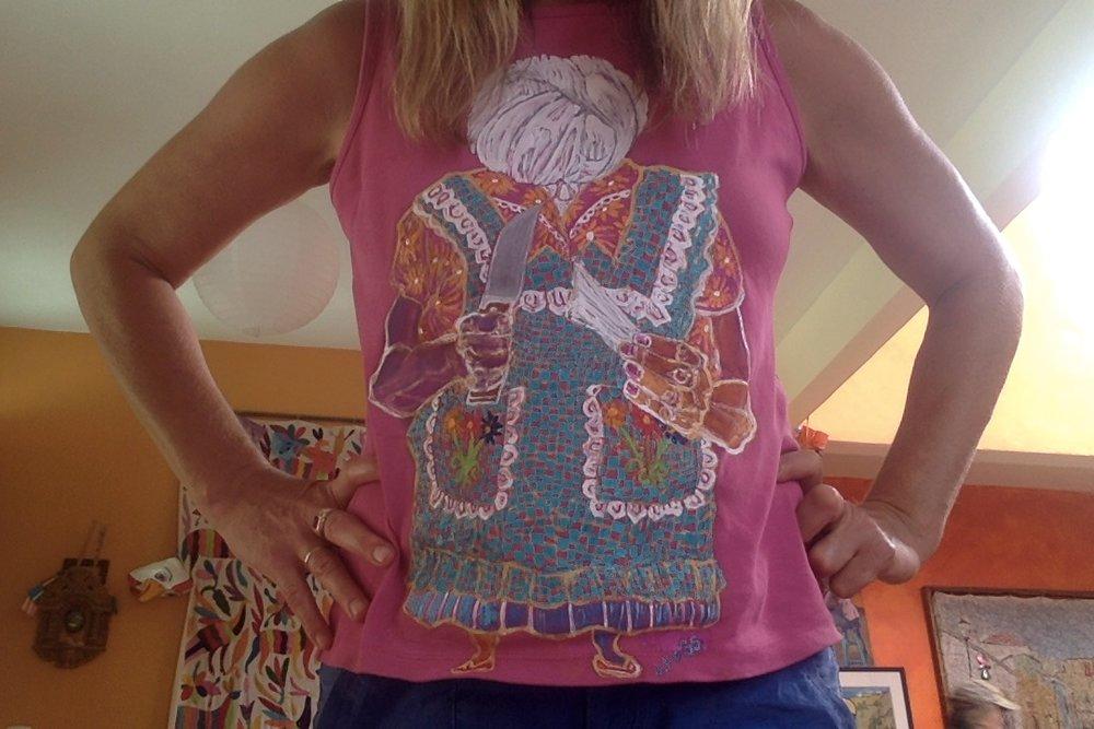 QuesilloHead tee shirt