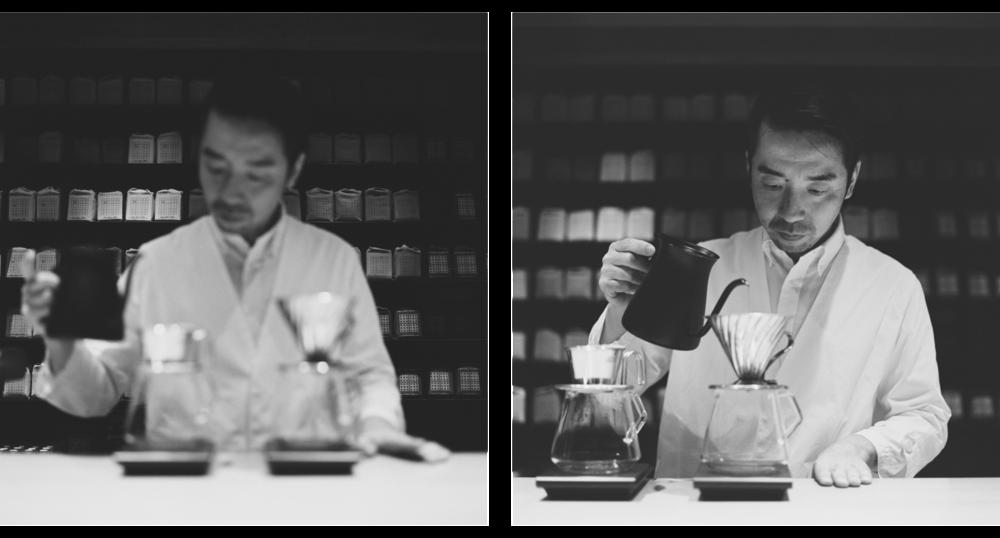 KoffeeMameya-Pourover-Blackandwhite