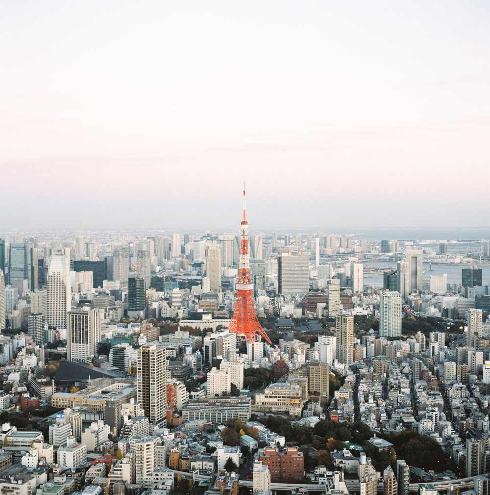 Tokyo-Tower-Sunset