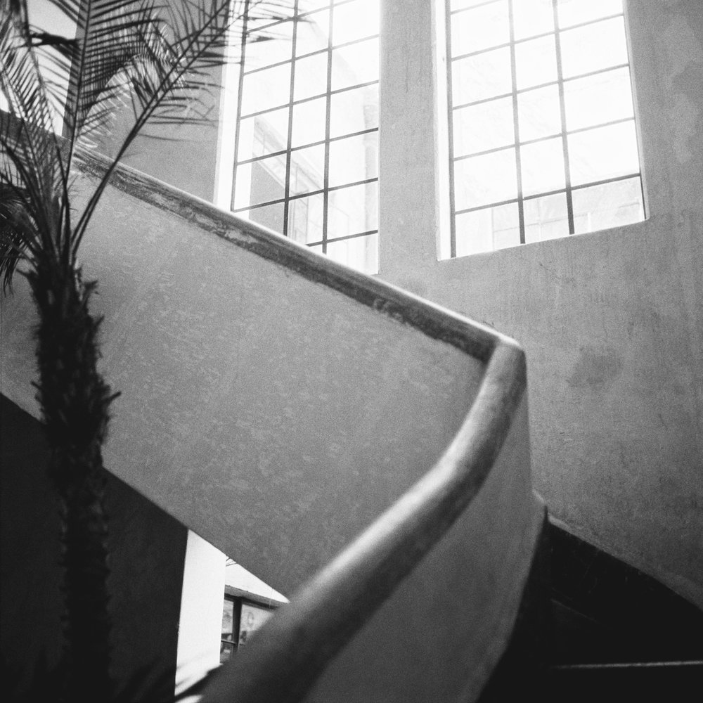 Mexico-City-Decada-Vintage-Furniture-Staircase-BW.jpg