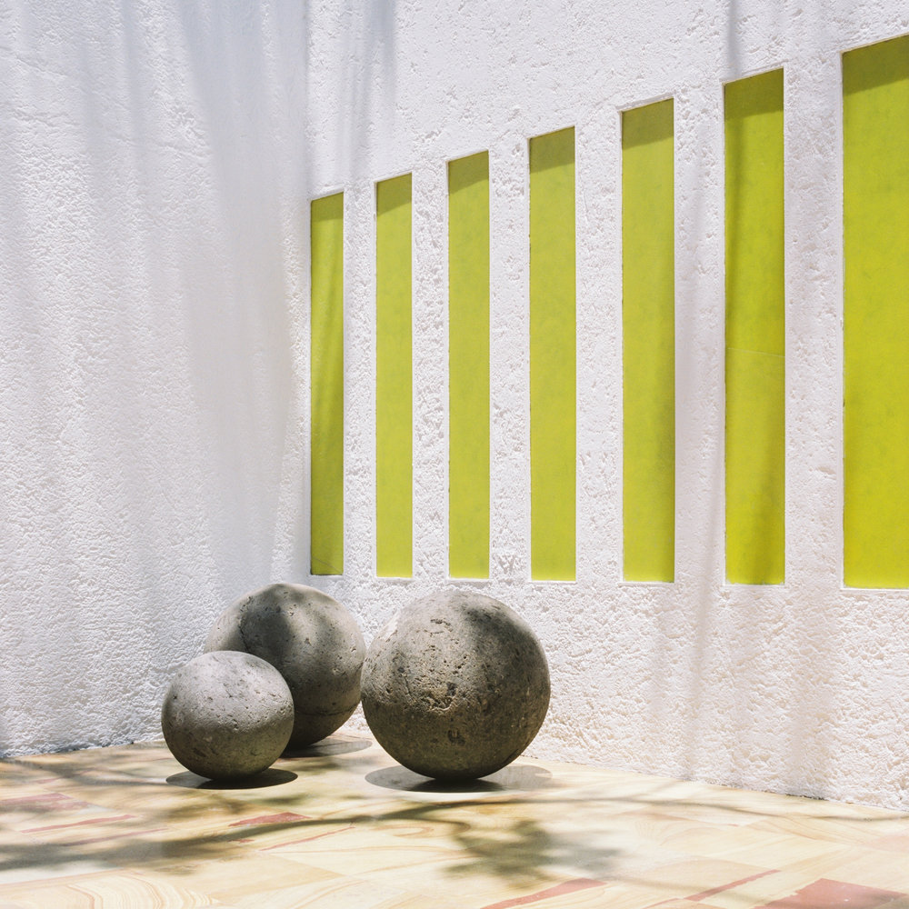 Barragan Casa Gilardi Patio Sphere and Wall