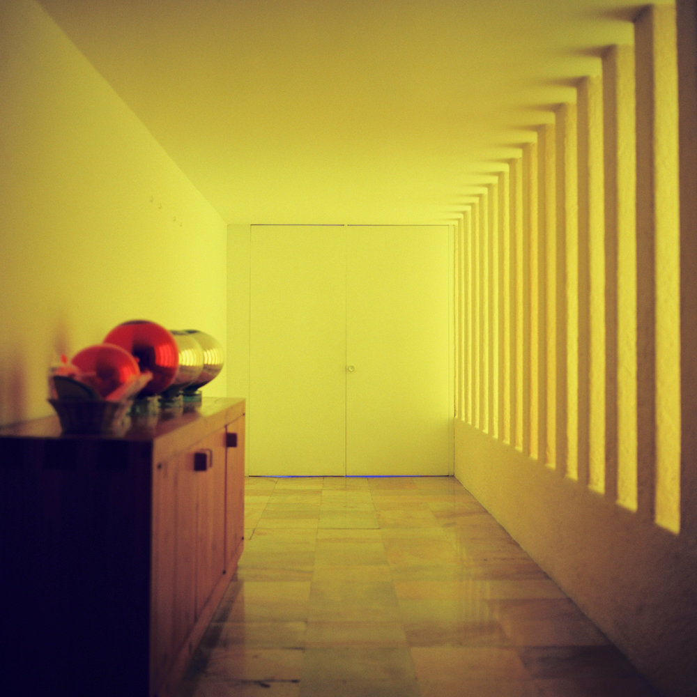 Barragan Casa Gilardi Yellow Hallway