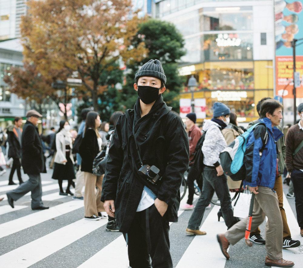 Portrait Stephen Shibuya Crossing