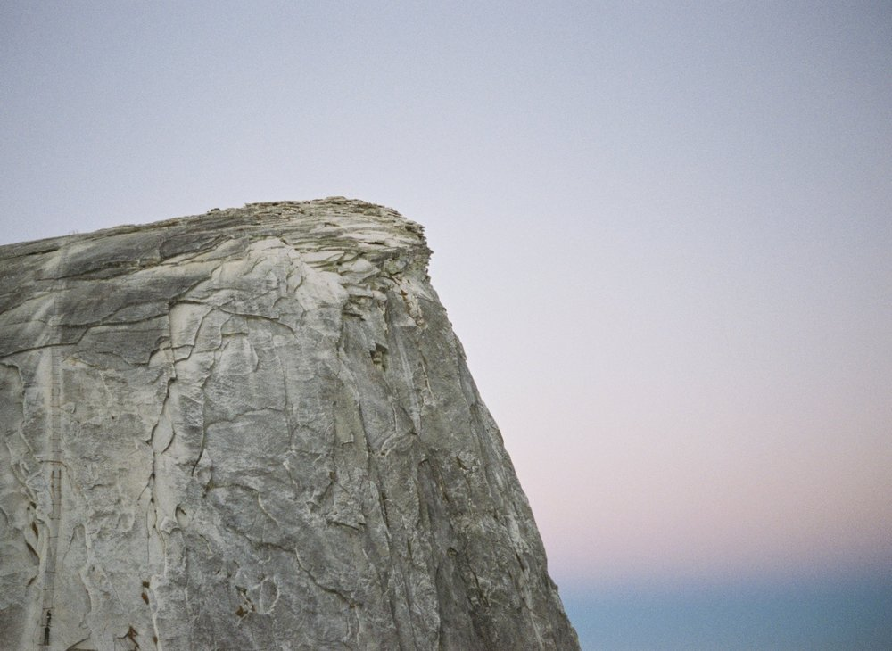 Half Dome Blue Hour