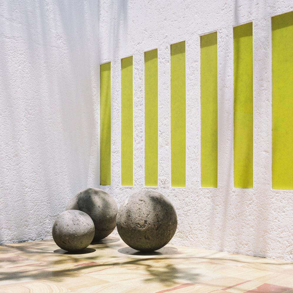 Luis Barragan Casa Gilardi Patio Details