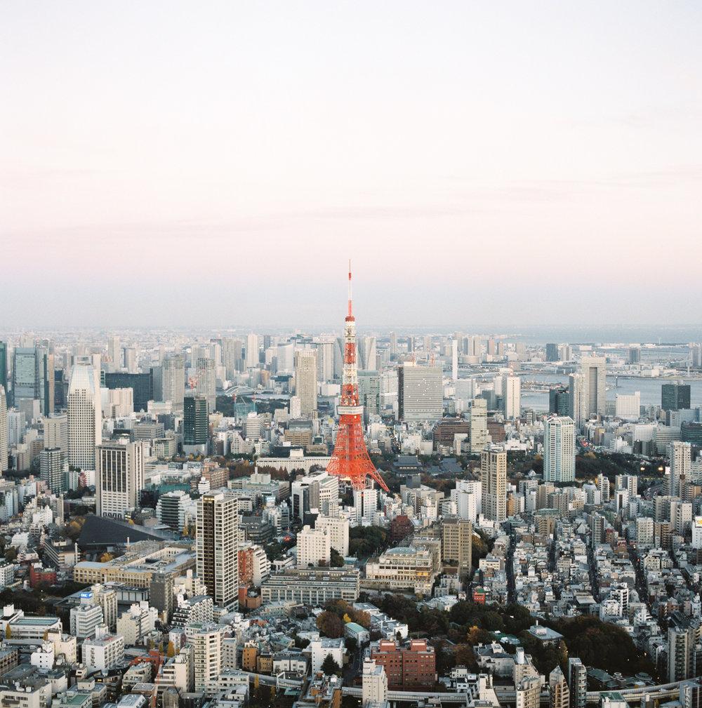 Tokyo Tower Sunset