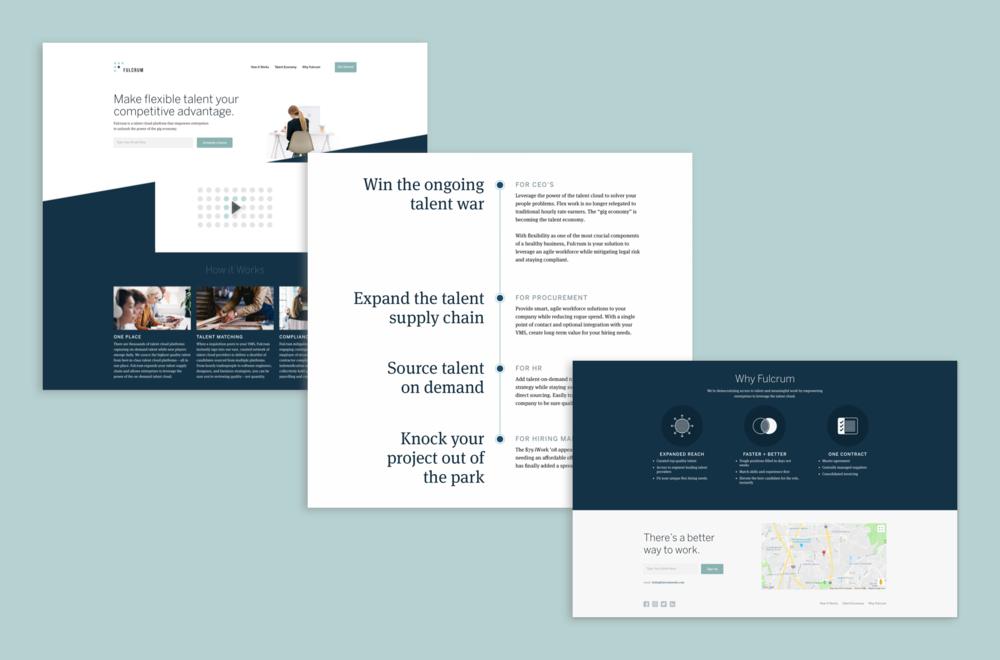 Fulcrum Marketing Page