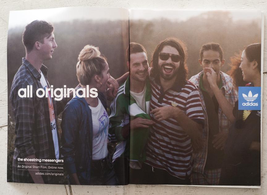 Adidas Originals Spring 2012 campaign imagery