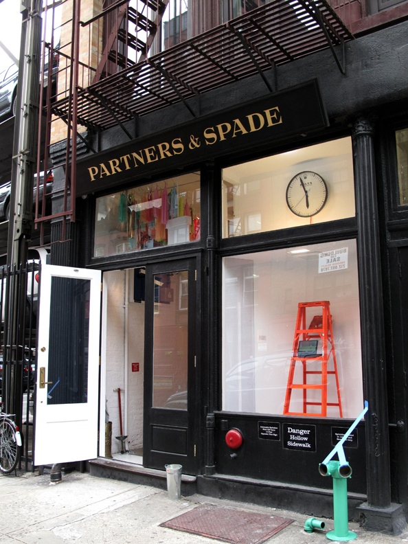 A space-wide 3 month takeover of Partners and Spade that was one part exhibition, one part curio shop.