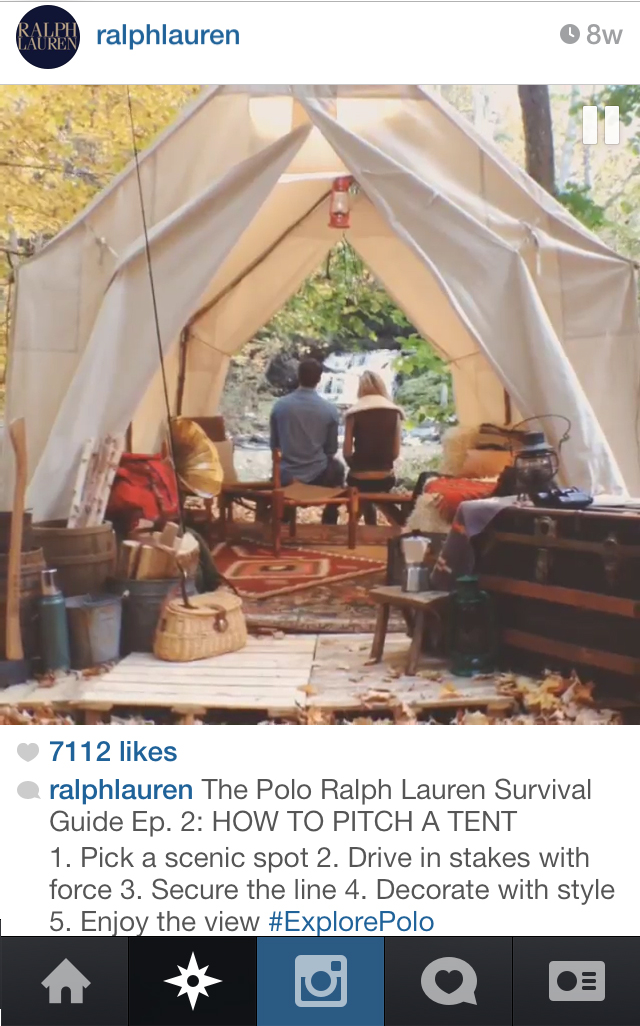 On @ralphlauren instagram.