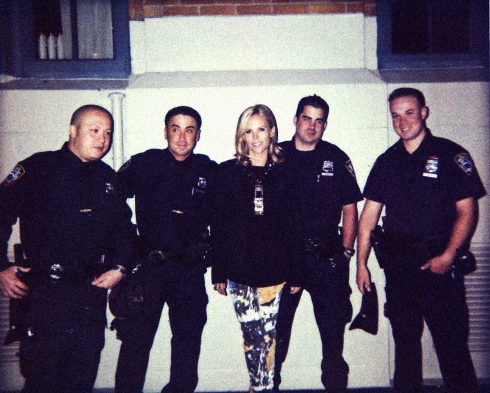 TORY BURCH AND THE POLICE