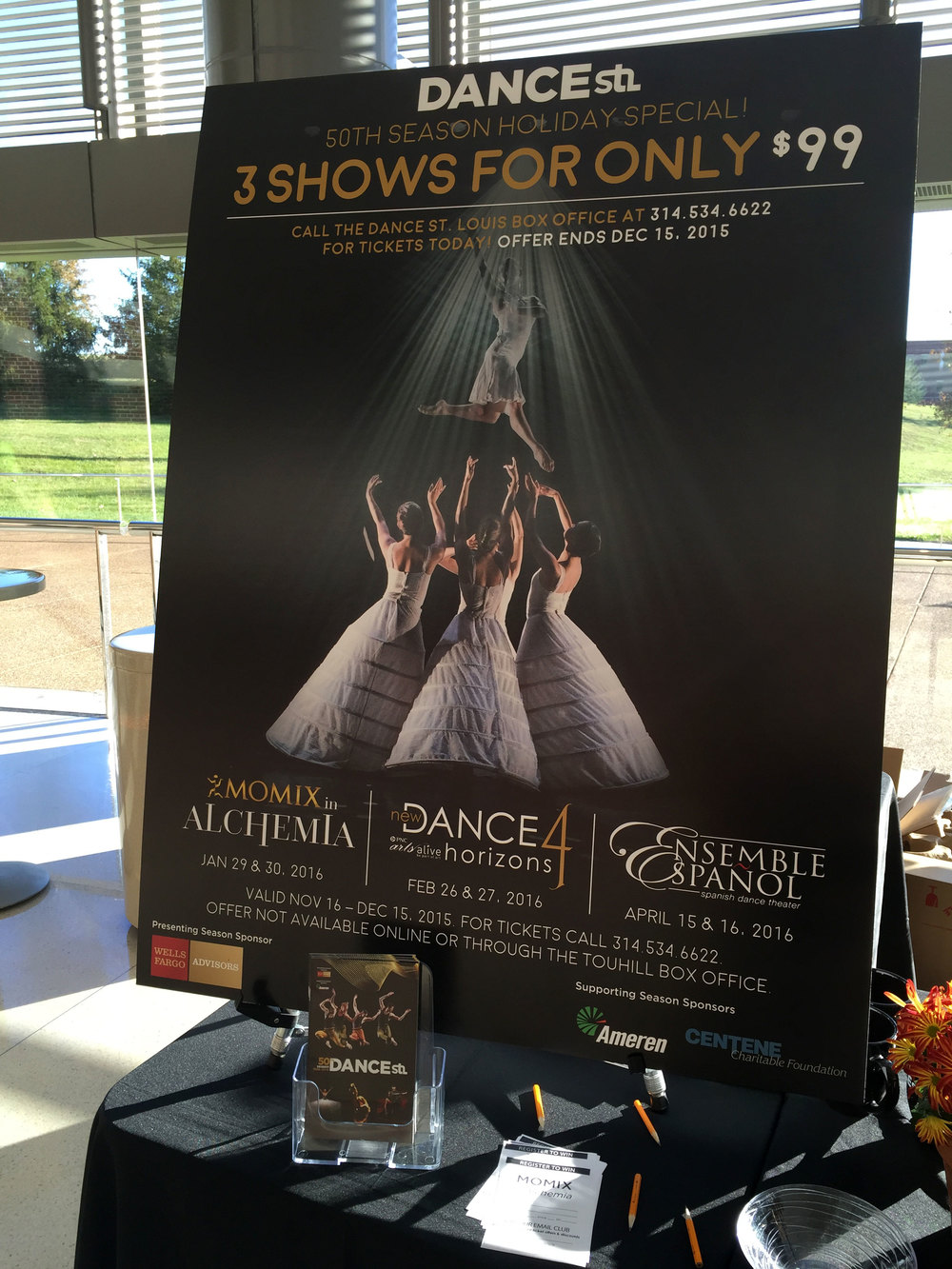 Dance St. Louis Event Signage