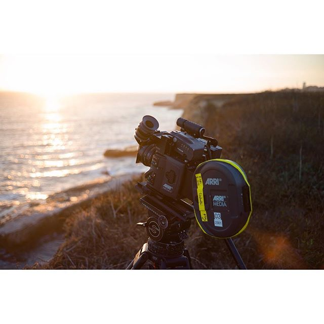 Time lapse of a sunset in Santa Cruz.. don't think I've done one of these since middle school .. #bts #timelapse #arri #filmisnotdead