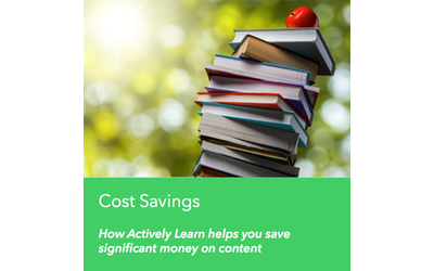 See where you can save money compared to your paper spend