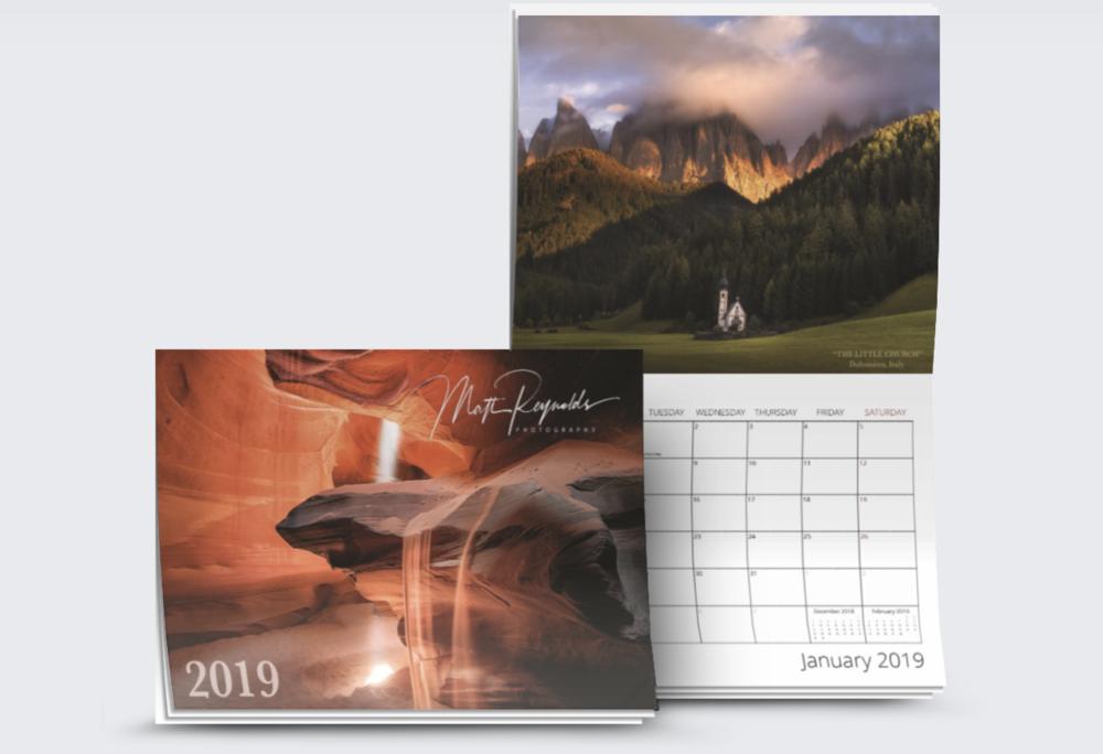 2019 Wall Calendars