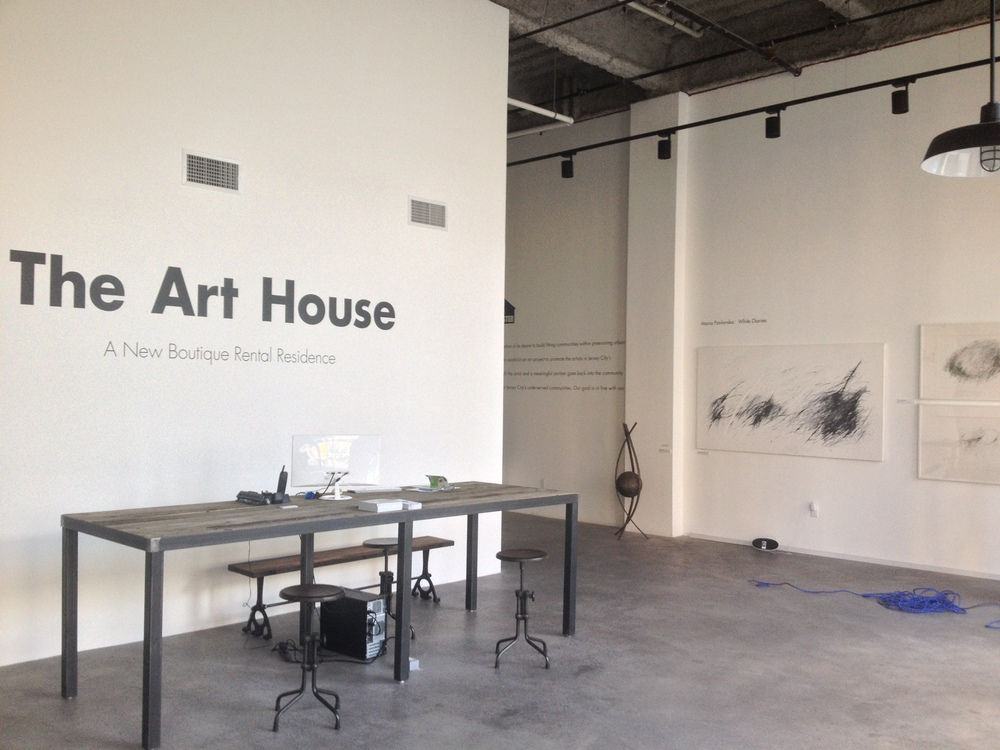 The Art House - Vinyl Installation