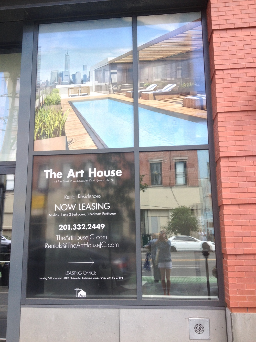 The Art House - Vinyl Window Banners