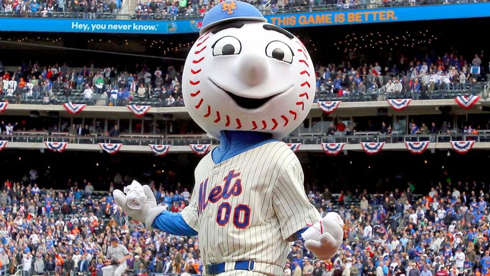 Nope. Nothing terrifying about Mr. Met.