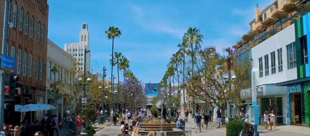 3rd Street Promenade, Santa Monica, CA