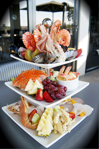 NYE Seafood Tier for 2 ... yummm!!!