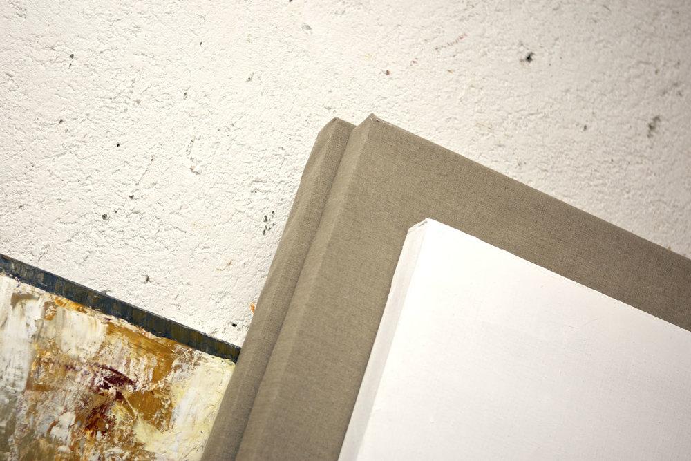En el taller de Virginia Chévez  Fotografía por Álvaro Morera