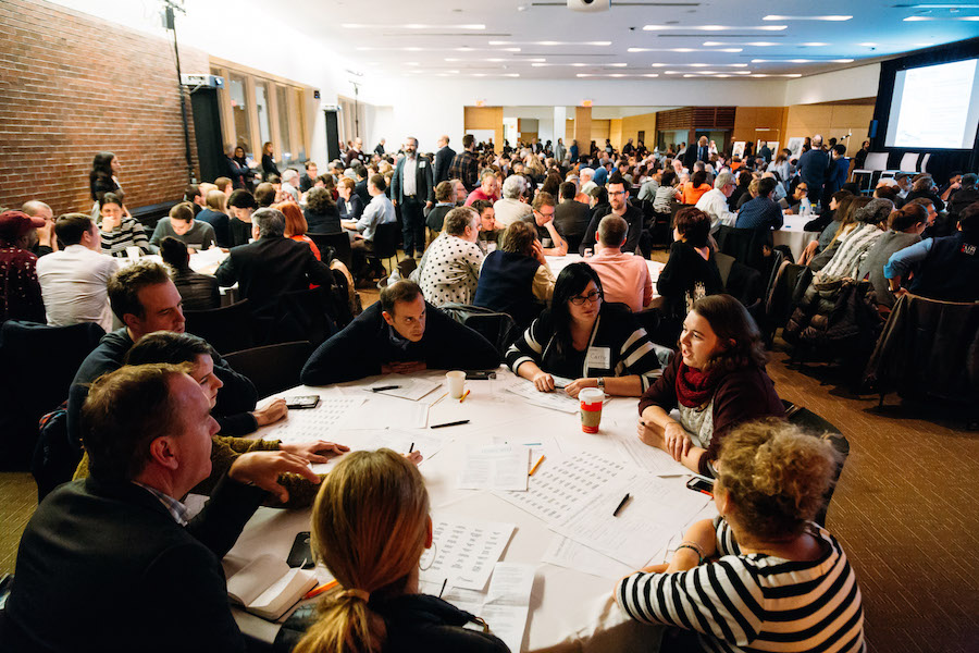 The Culture Talk in Toronto drew some 375 participants