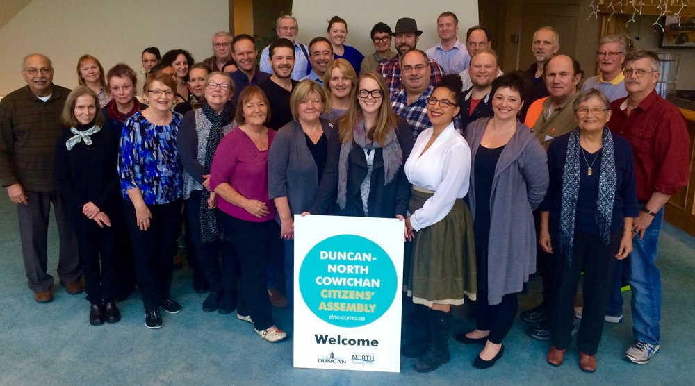 30. Duncan-North Cowichan Citizens' Assembly on Municipal Amalgamation
