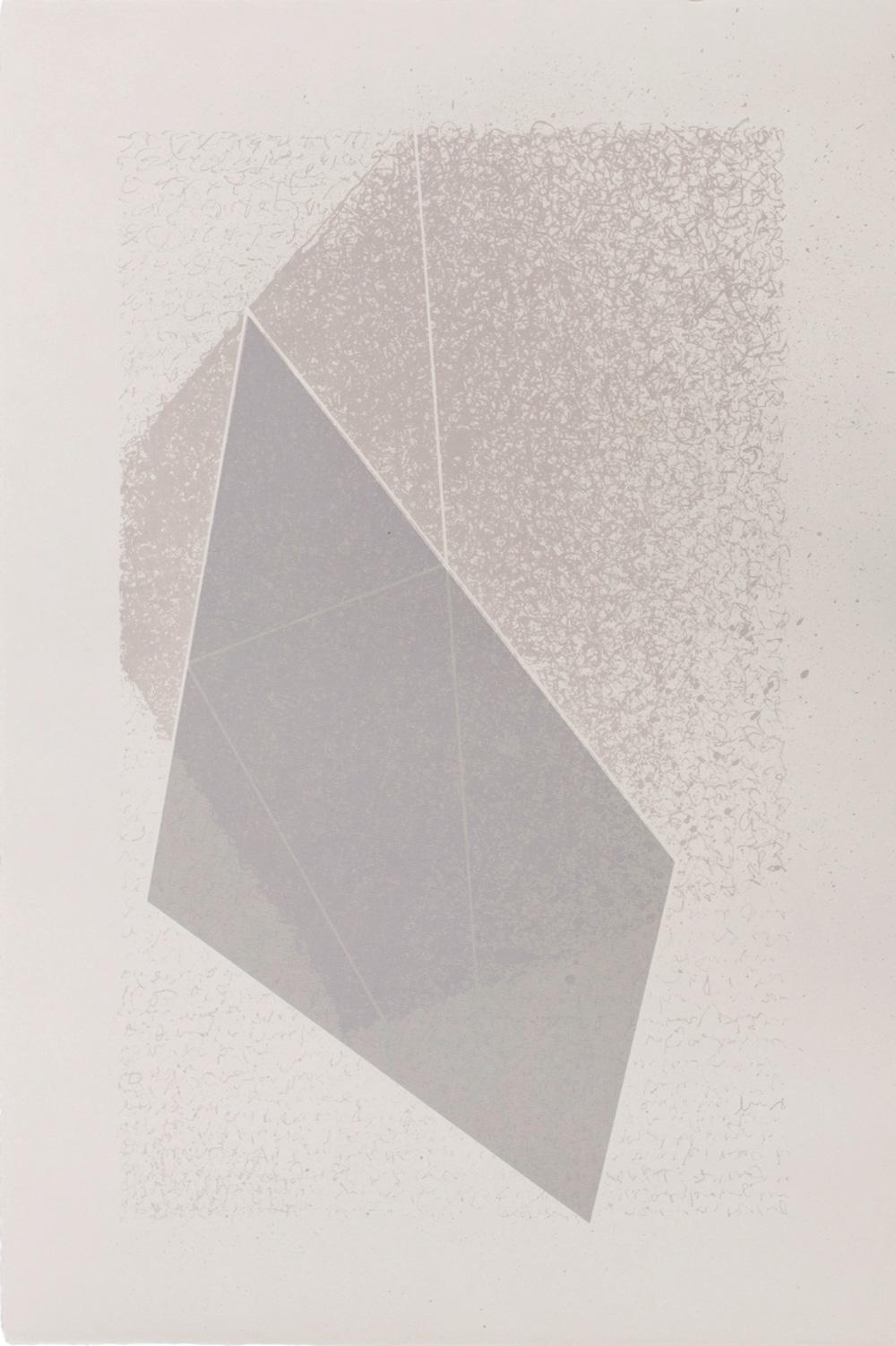 Albuquerque Colour Cube, 2015, Lithograph, 50 x 35cm