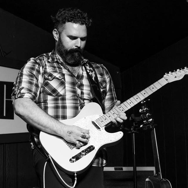 Jeremy #fendertelecaster #beards #theboardwalkorangevale  #likeakennedy