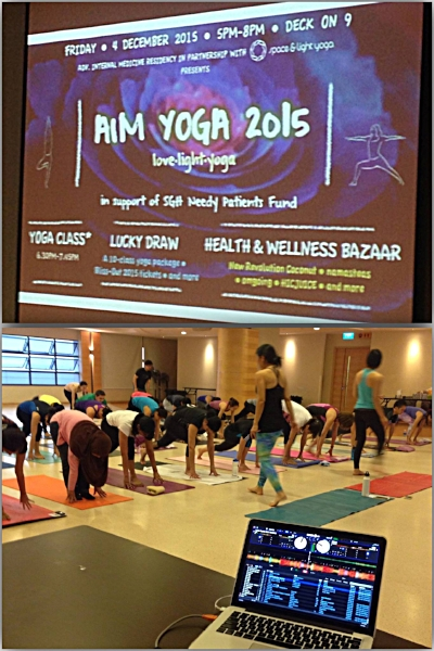AIM YOGA 2015 @ SGH