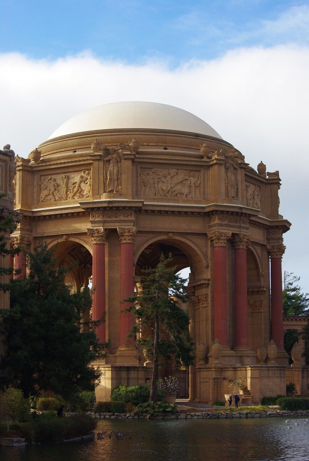 9.	Stroll through the Palace of Fine Arts