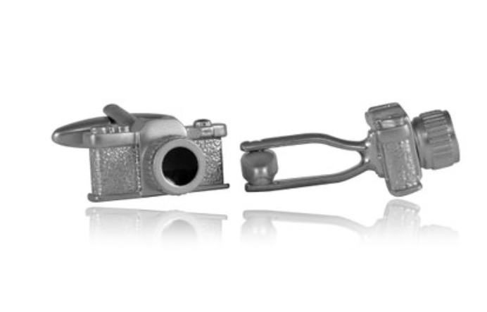 14.      Camera Cufflinks      ($28.99) Wear your love of photography on your sleeves with these classy cufflinks.