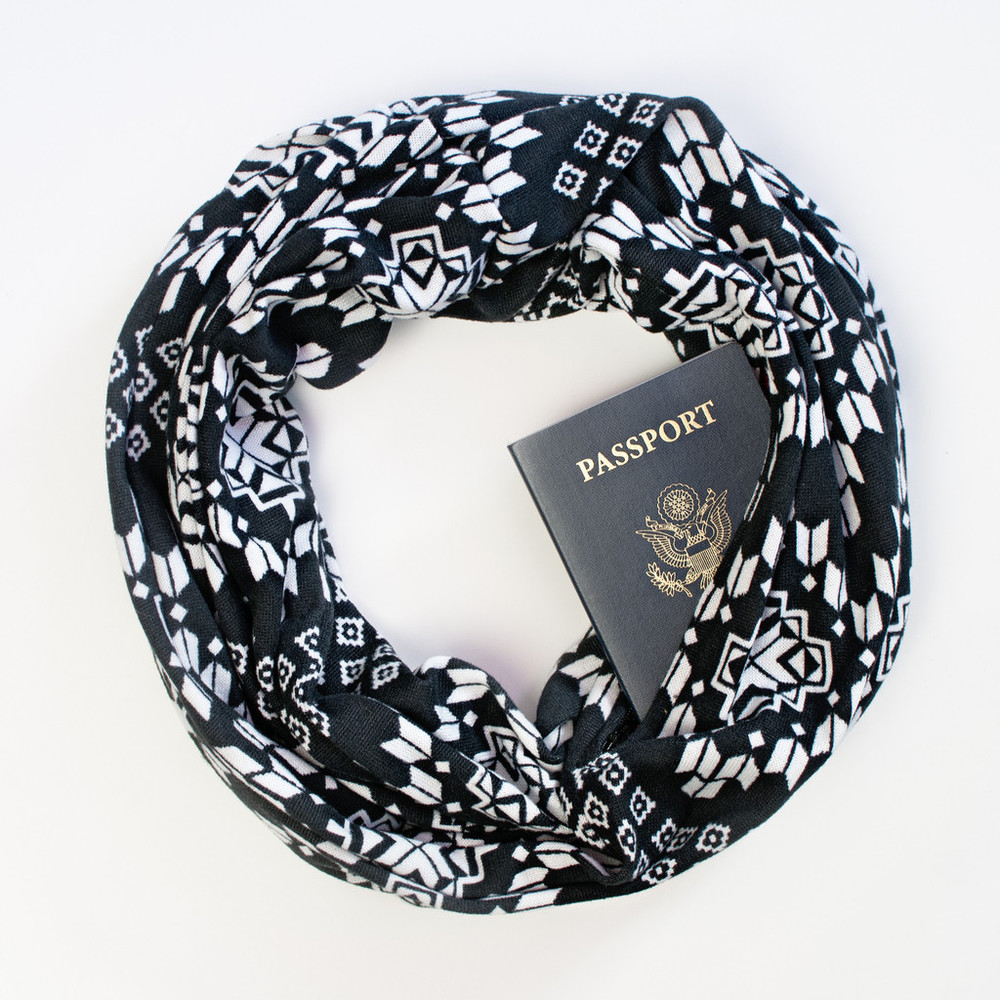 Passport Scarf, Speakeasy Travel Supply Co