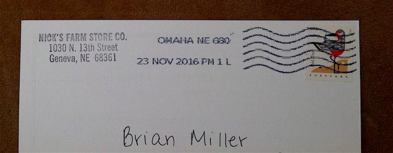 Postmark . . .