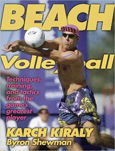 - Beach Volleyball: Karch KiralyTo many players and fans, Karch Kiraly is beach volleyball. Now you can learn the game from the best there ever was with Beach Volleyball, the only book devoted exclusively to the sport.Beach Volleyball will help you master the skills of the game. Kiraly explains and demonstrates every technique—serving, passing, setting, spiking, blocking, and digging. He also presents the 23 best practice drills to improve each of these important skills. You will learn Karch's special beach volleyball conditioning program for high-level fitness and performance, a regimen that has kept him at the top of the game for over two decades. More than 40 training exercises and drills will boost your flexibility, strength, speed, agility, and endurance.