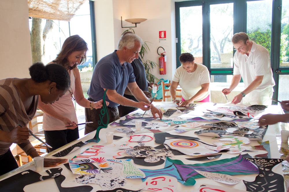 Collaborative art experiences unlock your creative potential to help you become a better problem solver.